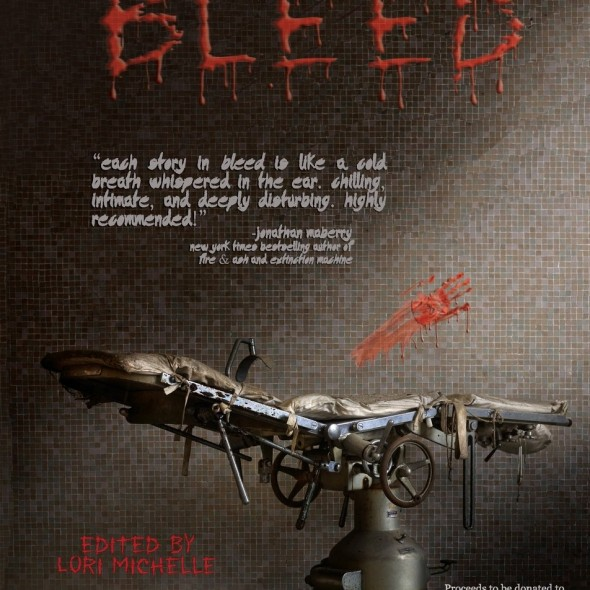 "Read ""I Am Disease,"" a zombie fairytale about addiction and cancer, in the acclaimed Bleed anthology. All proceeds go to supporting cancer research for kids."